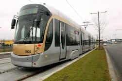 Negentig procent van het tramnet moet op termijn op een eigen baan rijden.