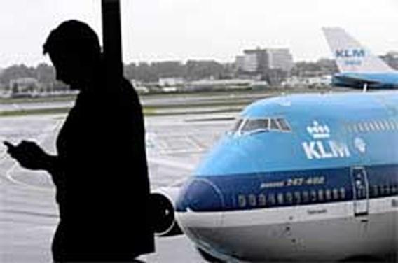 Bellen met gsm in KLM-vliegtuig