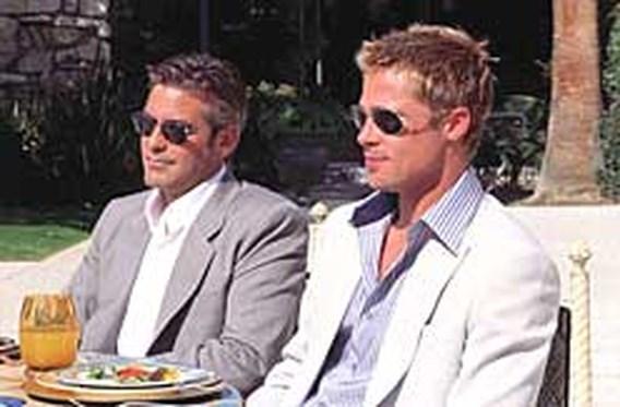Clooney en Pitt gaan voor Ocean's Thirteen