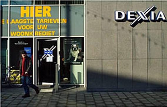 Dexia Bank beperkt hoeveelheid cash in de kantoren