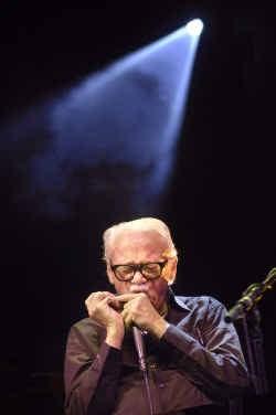 Toots Thielemans op het Blue Note Records Festival, dat de jazzscene de voorbije jaren een flinke injectie heeft gegeven.