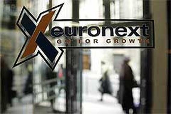 Recordaantal aandelentransacties op Euronext