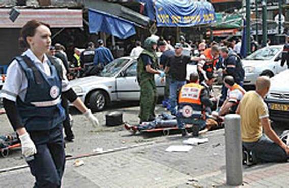 Negen doden bij zelfmoordaanslag in Tel Aviv