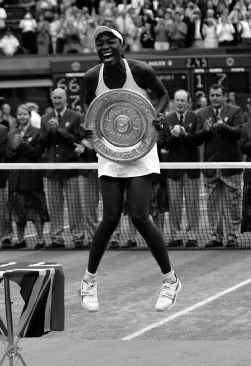 Wimbledonkampioene Venus Williams ,,We willen op een gelijke manier behandeld worden.''