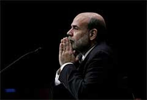 Bernanke ziet mogelijke pauze in verhoging rente
