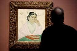 ,,L'Arlésienne'' van Vincent van Gogh.