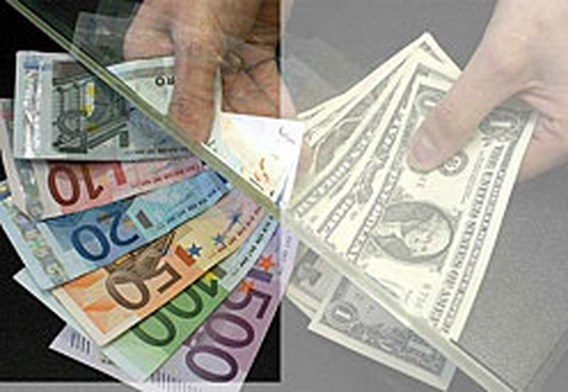 Nieuw eurorecord tegenover dollar
