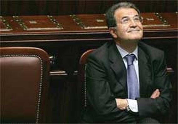 Prodi biedt ontslag aan bij Italiaanse president