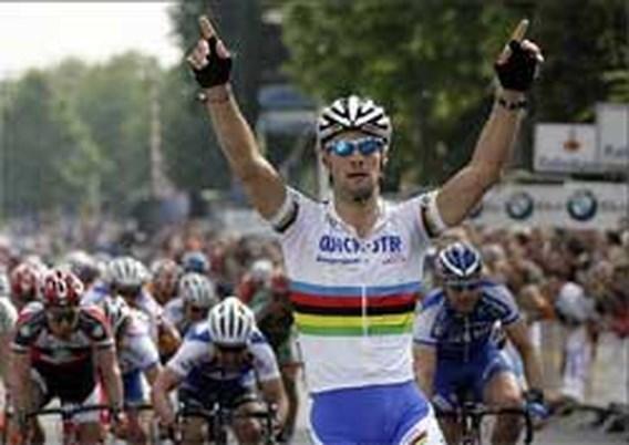 Tom Boonen wint Veenendaal-Veenendaal