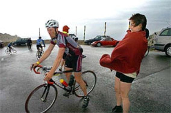Ventoux blaast fietsers weg