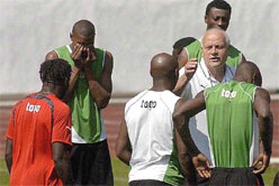Togolese spelers toch naar Dortmund
