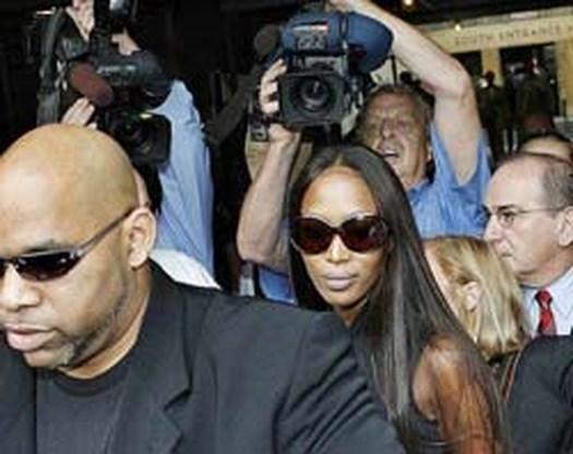 Naomi Campbell gearresteerd voor huis ex-vriend