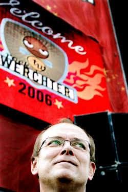 Rik Liekens is al zes jaar veiligheidscoördinator op Rock Werchter.