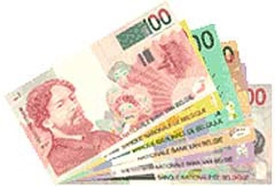 U heeft nog 6,8 miljard Belgische frank op zak