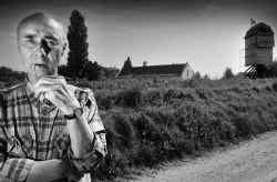 Senne Rouffaer vier jaar geleden, toen hij terugkeerde naar de Zepposmolen in Onze-Lieve-Vrouw-Lombeek.