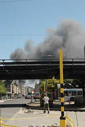Brand in Antwerps magazijn onder controle
