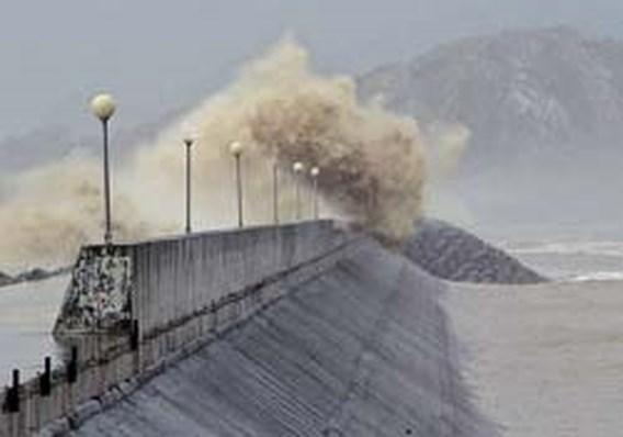 Honderdduizenden Chinezen geëvacueerd voor naderende storm