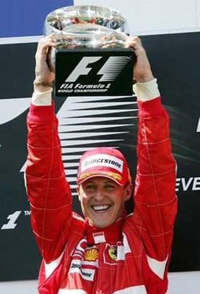 Michael Schumacher heeft knoop doorgehakt