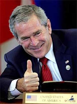 George Bush heeft een lager IQ dan de meeste presidenten