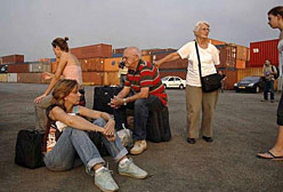 ,,Evacuatie Belgen op kruissnelheid''