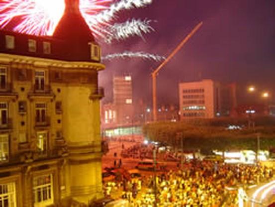 14 gewonden bij vuurwerk Gentse Feesten
