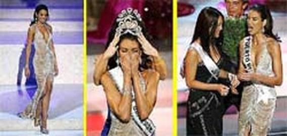 Porto Ricaanse Zuleyka Rivera is Miss Universe 2006