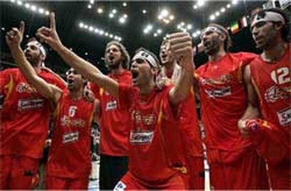 Spanje wereldkampioen basketbal