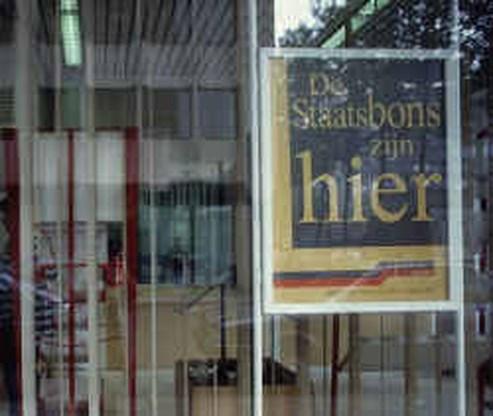 Staatsbon brengt 183,5 miljoen euro op
