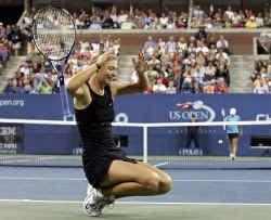 Maria Sharapova bewijst met haar winst op de US Open dat ze geen 'one-slam wonder' is.