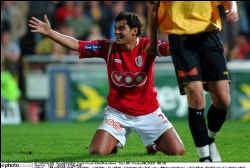 ,,Fenomenaal'', vatte Michel Preud'homme de match van Sergio Conceição samen. ,,Als hij zich kan intomen, is het een schitterende speler.''