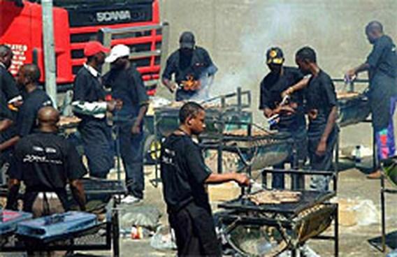 Namibië misloopt wereldrecord barbecuen