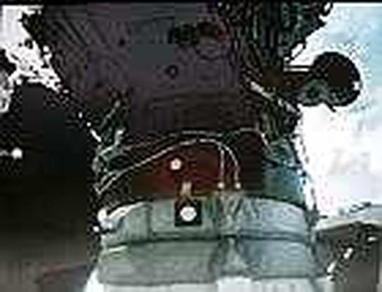 Ruimteveer Atlantis aan ruimtestation ISS gekoppeld