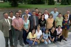 De werkgroep Schitu en de bezoekers uit het Roemeense adoptiedorp verbroederen nog tot en met zondag.
