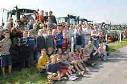 De kinderen werden met hun neus op het landbouwleven gedrukt.