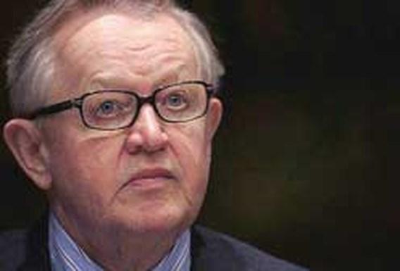 Fin Martti Ahtisaari moet ons uit politieke impasse halen
