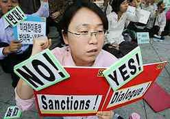 Noord-Korea dreigt kernraket af te vuren