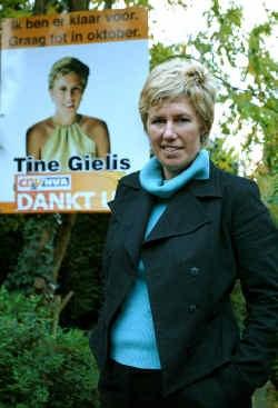 ,,Ik wil vooral veel praten met de mensen'', zegt Gielis.