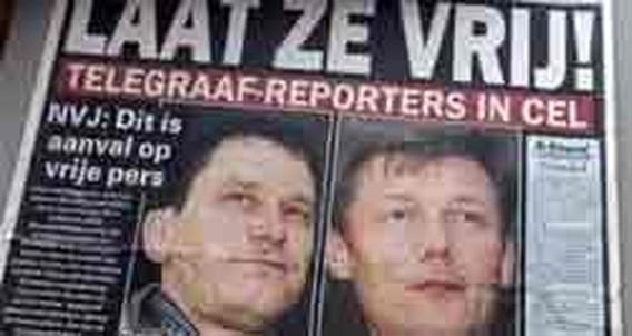 Nederlandse journalisten achter de tralies