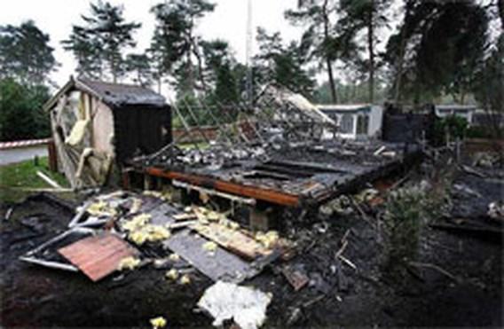 Pyromaan aan het werk in Lommel