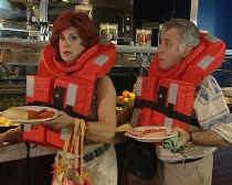 Carmen en Xavier nemen duidelijk geen risico op cruise.