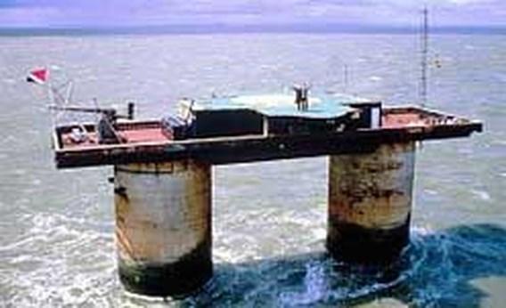 Torrentsite Piratebay.org laat oog vallen op ministaatje Sealand