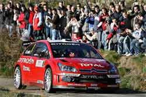 Wereldkampioen Loeb op weg naar zege in rally Monte Carlo