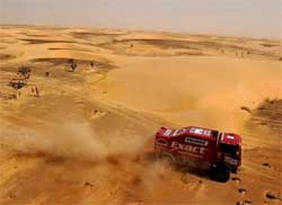 Belg wint Dakar bij de vrachtwagens