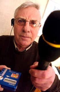 Lucien De Bels is jarenlang een enthousiast medewerker geweest van Radio RFW.