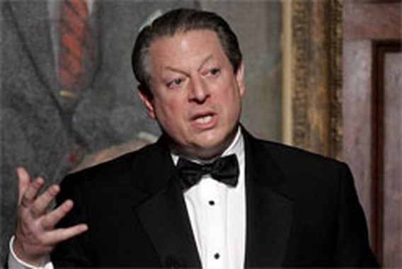Nobelprijs voor de Vrede voor Al Gore