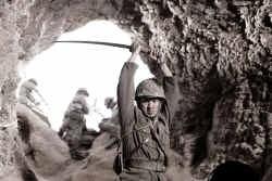 Slechts 200 van de 20.000 Japanse soldaten overleefden de strijd.