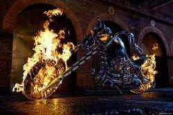 """,,Ghost Rider"""": veel vlammen, weinig vuur."""