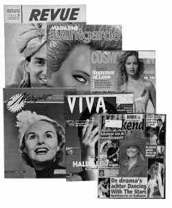 Nederland toont de geschiedenis van 150 jaar tijdschriften.