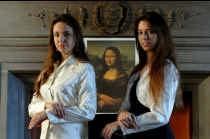 Charmant, begaafd én gezegend met een illustere afstamming: Irina en Natalia Strozzi mogen niet klagen.