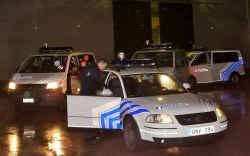 De gealarmeerde politie was het spoor van de overvallers snel kwijt.